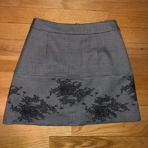 Zara Trafuluc Collection Grey Mini Skirt
